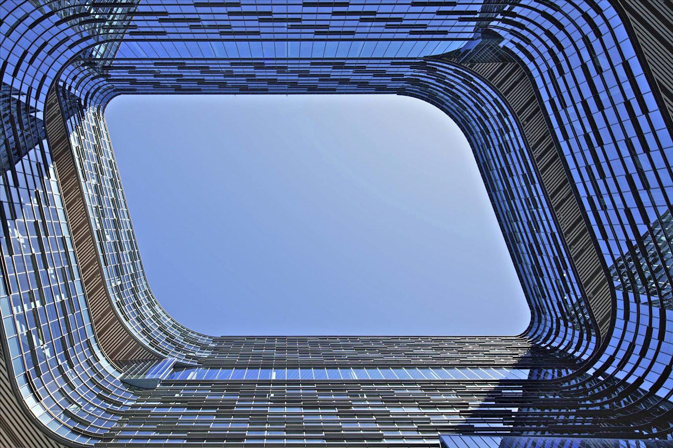 © Дэвид Кроуфорд (David Crawford), Штаб-квартира Samsung Electronics в Сан-Хосе (США). Архитекторы: NBBJ, Конкурс «Архитектурная фотография»