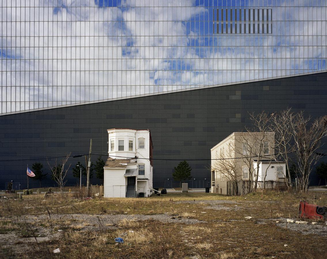 © Брайан Роуз (Brian Rose), Северная стена отеля-казино Revel (Атлантик-Сити, США), Конкурс «Архитектурная фотография»