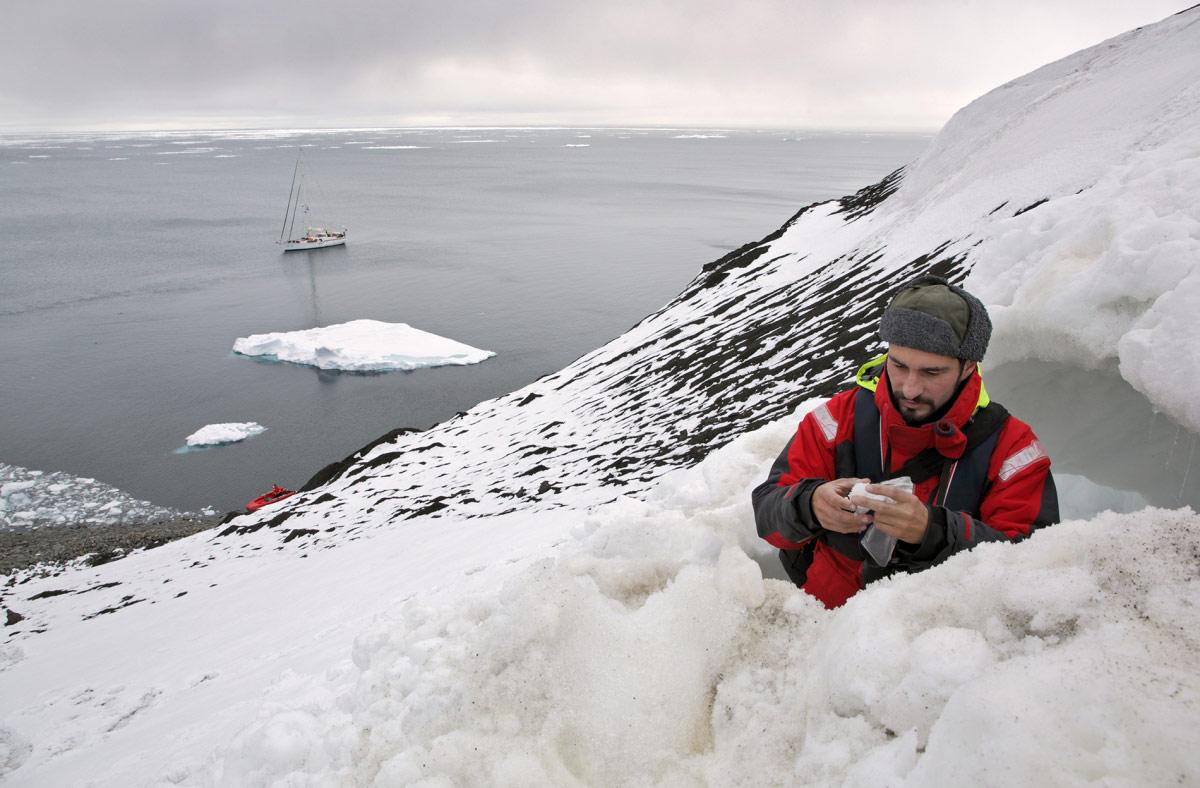 © Владимир Мельник, 3 место в категории «Бизнес и наука в Арктике», Фотоконкурс «Арктическое биоразнообразие через объектив»