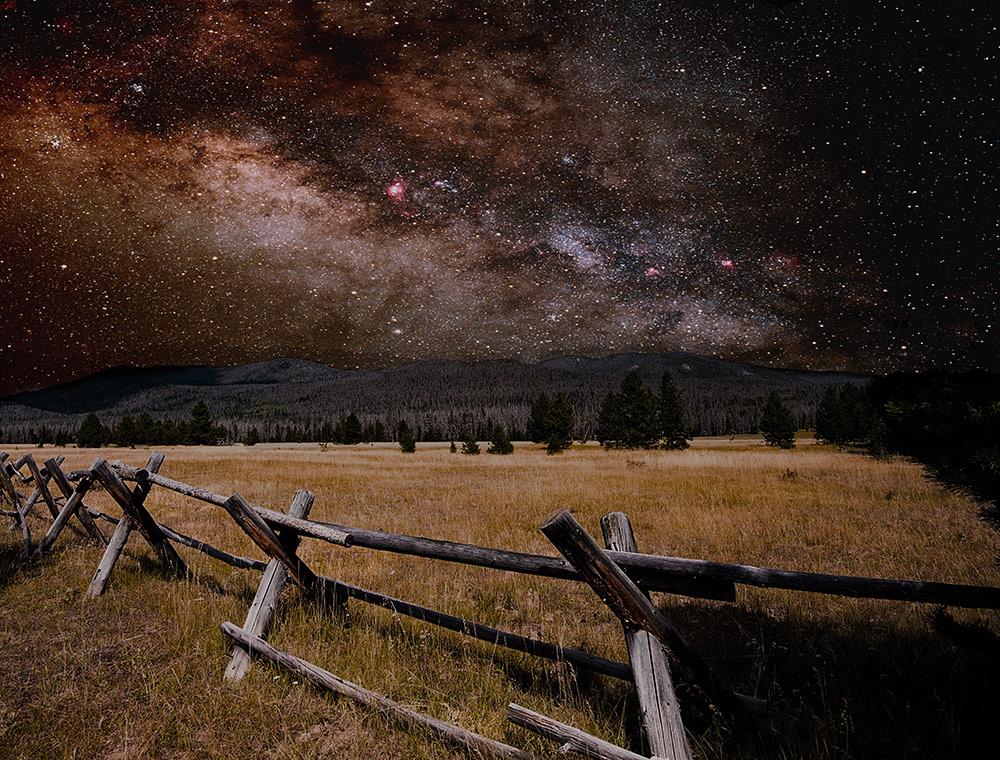 Звёздная ночь, © Джейсон Леви, США, Международный конкурс изобразительного искусства Scapes