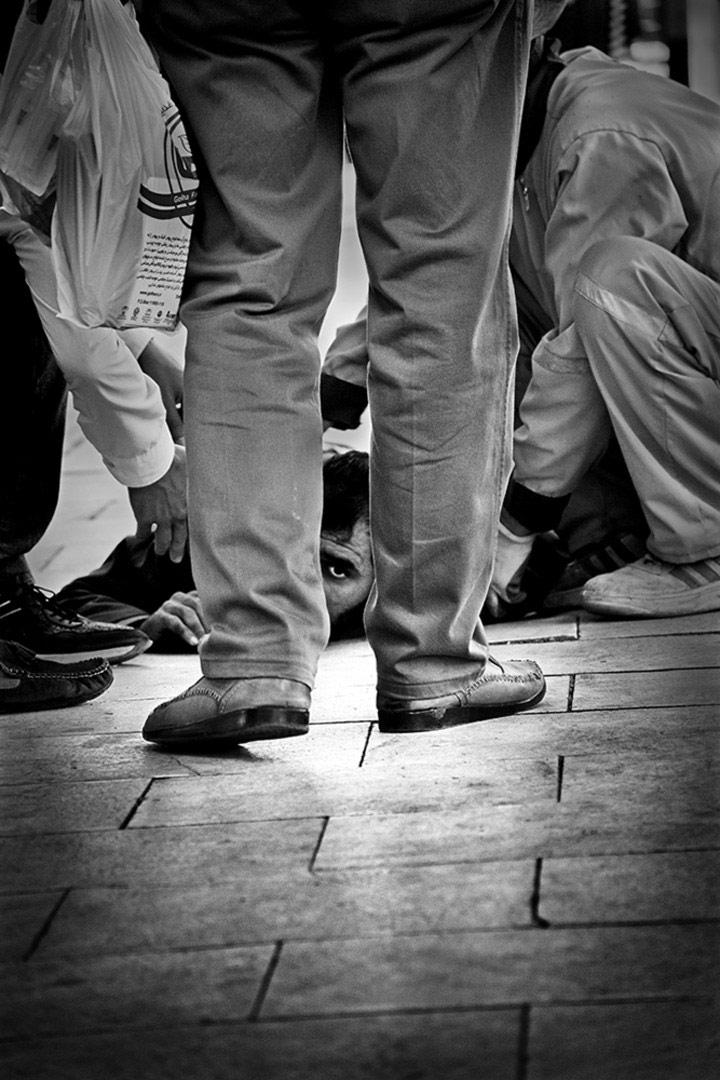© Махрад Фейзбаксш, Иран, Глаз, Молодёжная премия (одиночный кадр), Конкурс уличной фотографии ASPA