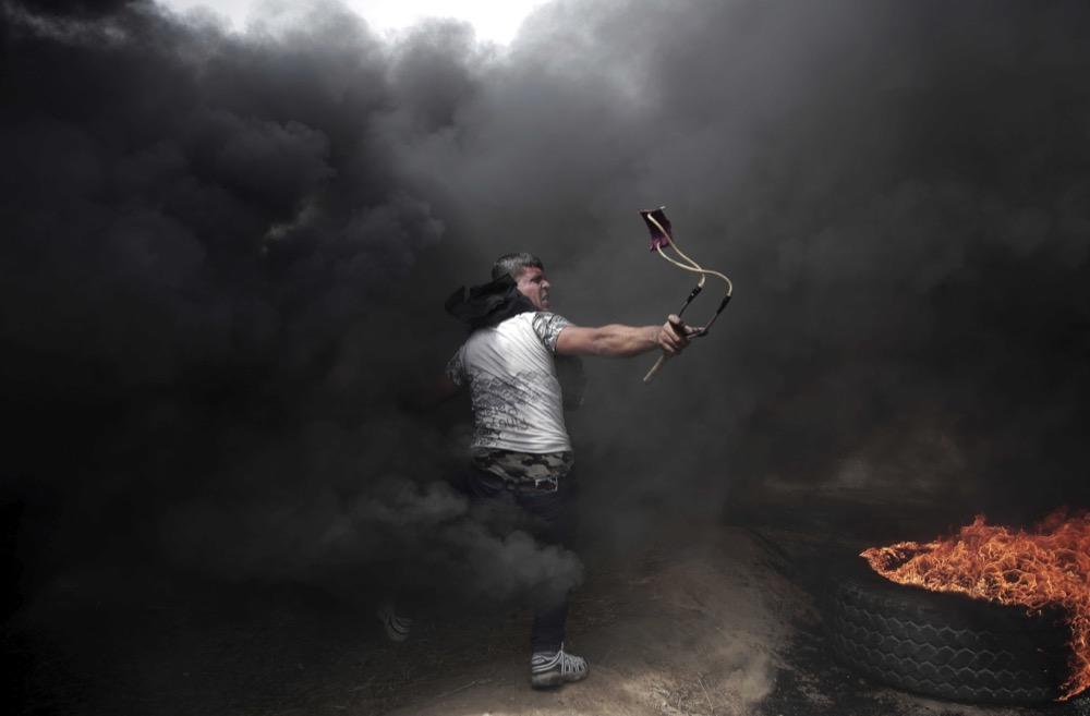 © Халил Хамра / Associated Press, Первое место, Конкурс фотожурналистики Atlanta