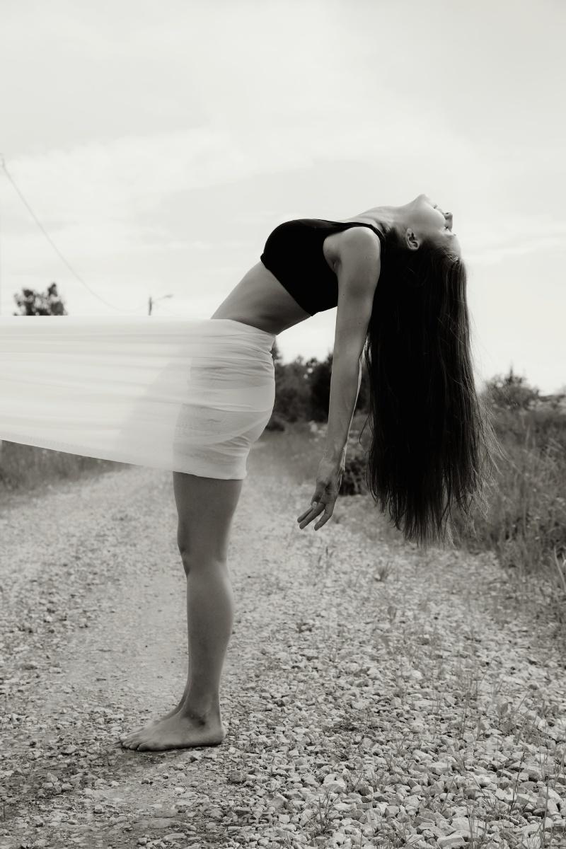 Работа «Лёгкость»: © Шацкая Кристина Павловна