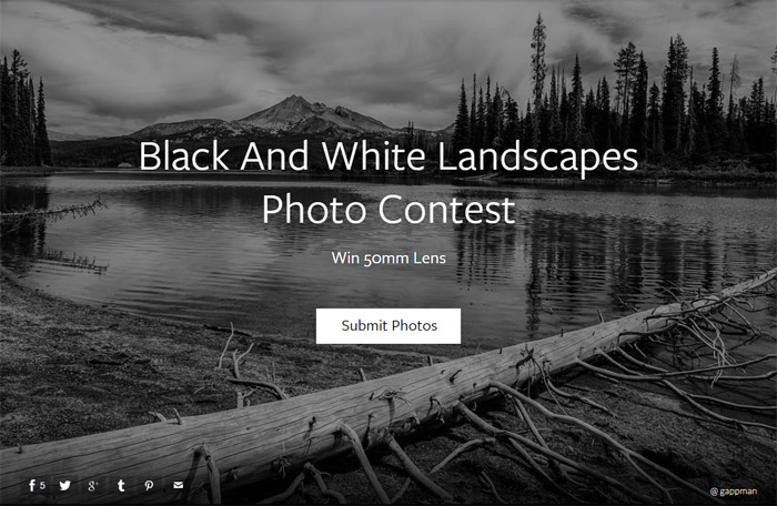 Фотоконкурс «Чёрно-белые пейзажи» — Black And White Landscapes