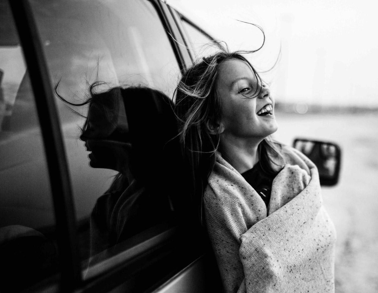 Поездка, © Ольга Федорова, Россия, 2-е место, Конкурс детской фотографии в чёрно-белом