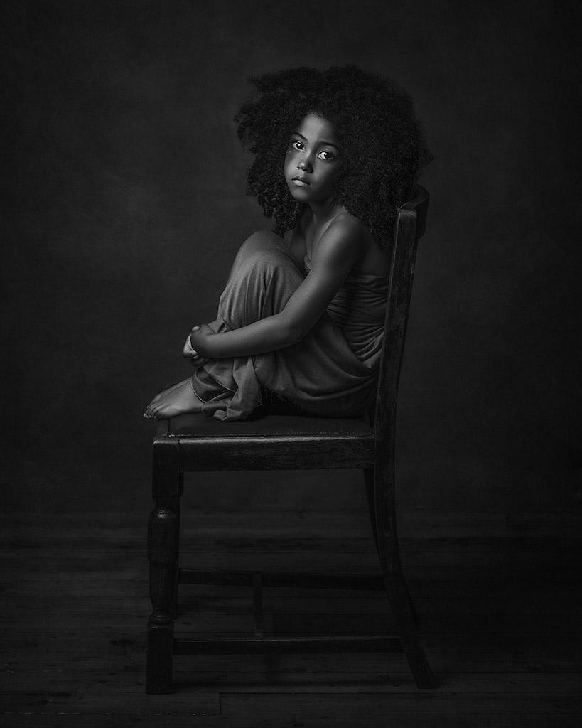 Саванна, © Полина Дузман, Великобритания, Номинант в категории «Художественная фотография» — 1-й тайм, Конкурс детской фотографии в чёрно-белом