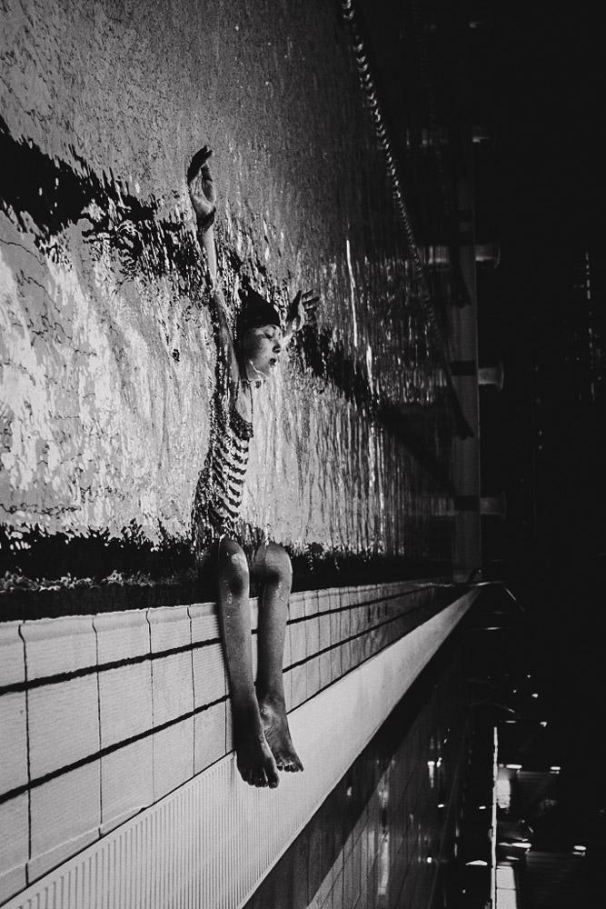 Отдых, © Каролина Пиорковска, Польша, 3-е место, Конкурс детской фотографии в чёрно-белом