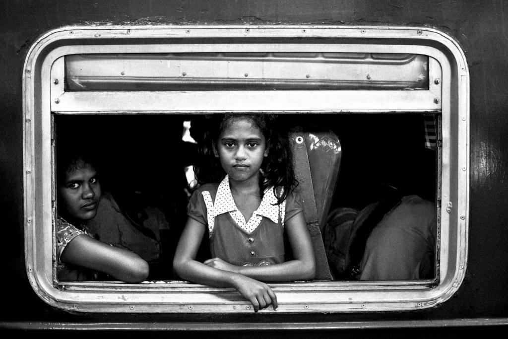 Поездка девочки, © Марсель Колачек, Чешская Республика, 1-е место, Конкурс детской фотографии в чёрно-белом
