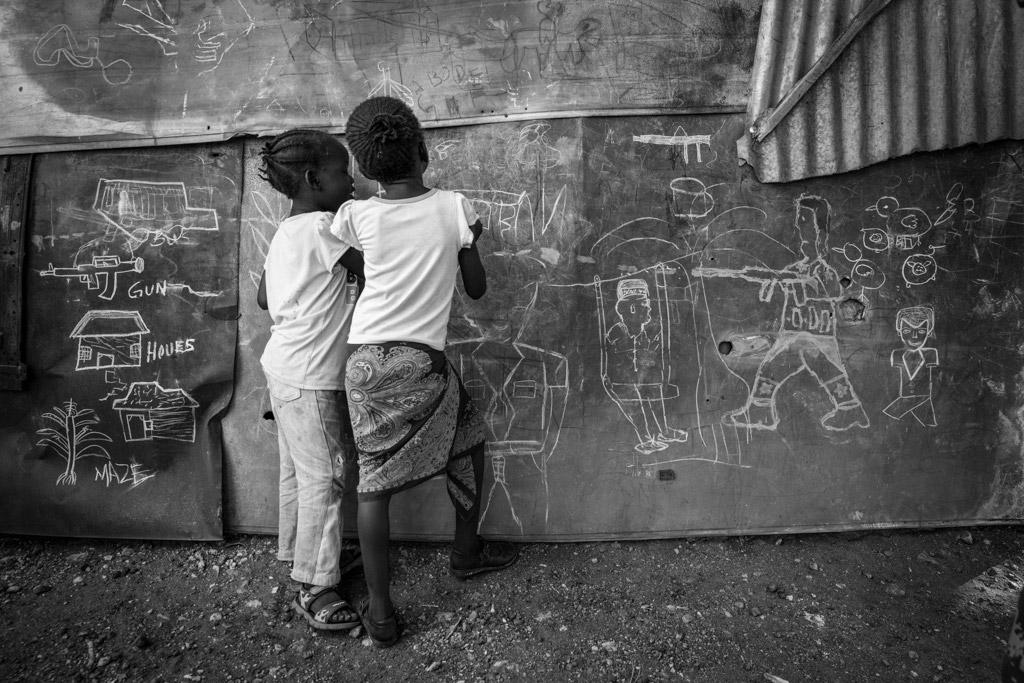 Без названия, © Лю Шуай, Китай, 3-е место, Конкурс детской фотографии в чёрно-белом