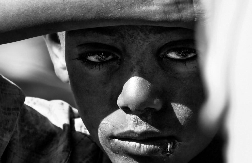 Эфиопское детство, © Симона Франческангели, Италия, 3-е место, Конкурс детской фотографии в чёрно-белом
