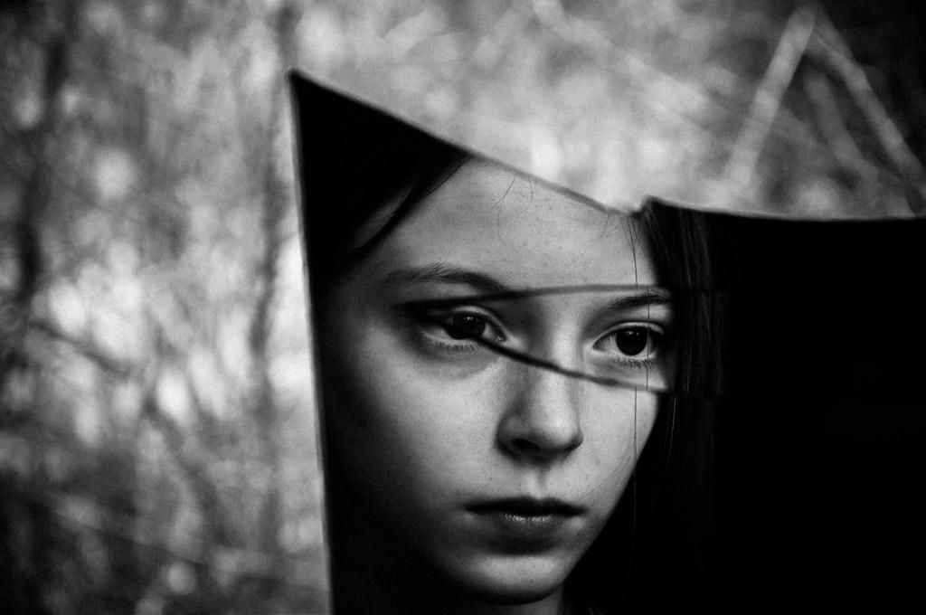 Без названия, © Алисия Бродович, Польша, 3-е место, Конкурс детской фотографии в чёрно-белом