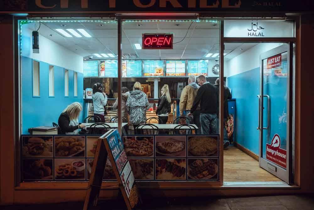Из кафе до завтрака. Ноттингем, Великобритания, © Николас Барбер, Фотоконкурс «Городской фотограф года» — CBRE Urban Photographer of the Year