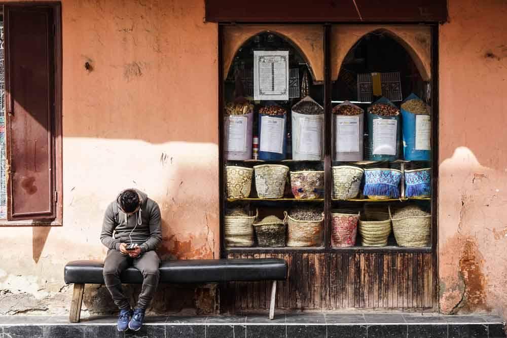 Просто сообщение. Марракеш, Марокко, © Мигель Кабрита Матиас, Фотоконкурс «Городской фотограф года» — CBRE Urban Photographer of the Year