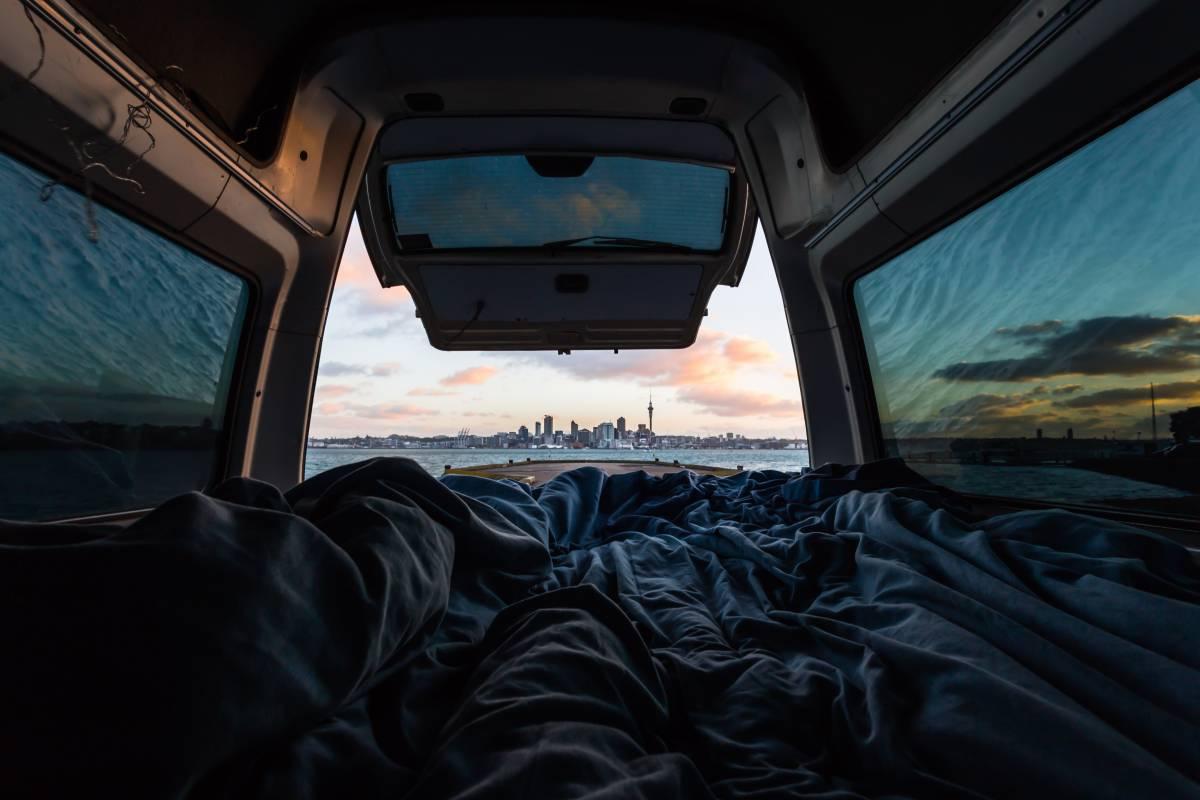 Доброе утро, Окленд. Окленд, Новая Зеландия, © Алек Эррера, Региональный победитель в Америке, Фотоконкурс «Городской фотограф года» — CBRE Urban Photographer of the Year