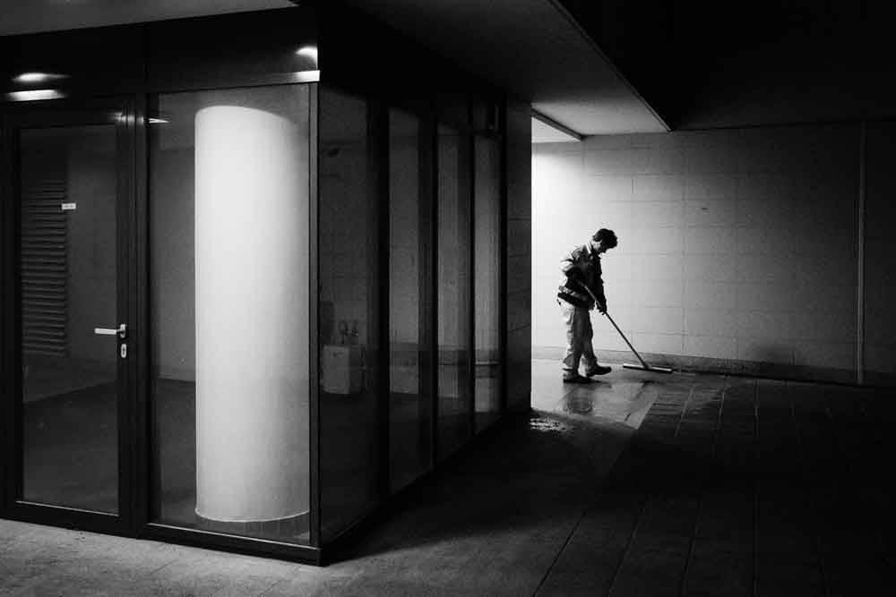 Ночная смена. Будапешт, Венгрия, © Гезо Ланг, Фотоконкурс «Городской фотограф года» — CBRE Urban Photographer of the Year