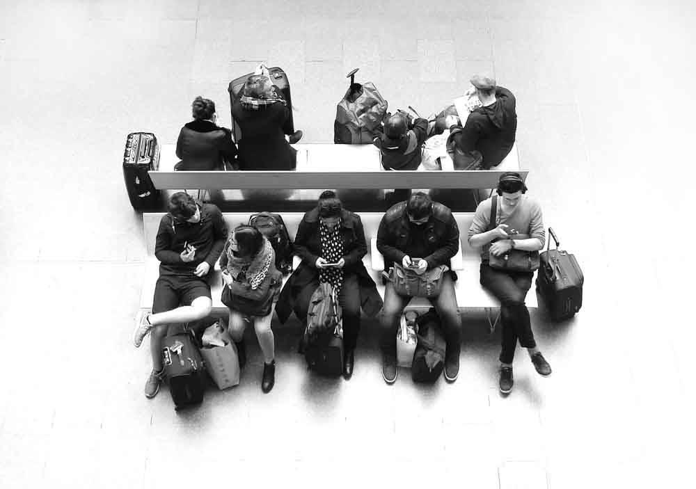 Действительно связаны? Лондон, Великобритания, © Мел Ченнелл, Победитель «Мобильной» категории, Фотоконкурс «Городской фотограф года» — CBRE Urban Photographer of the Year