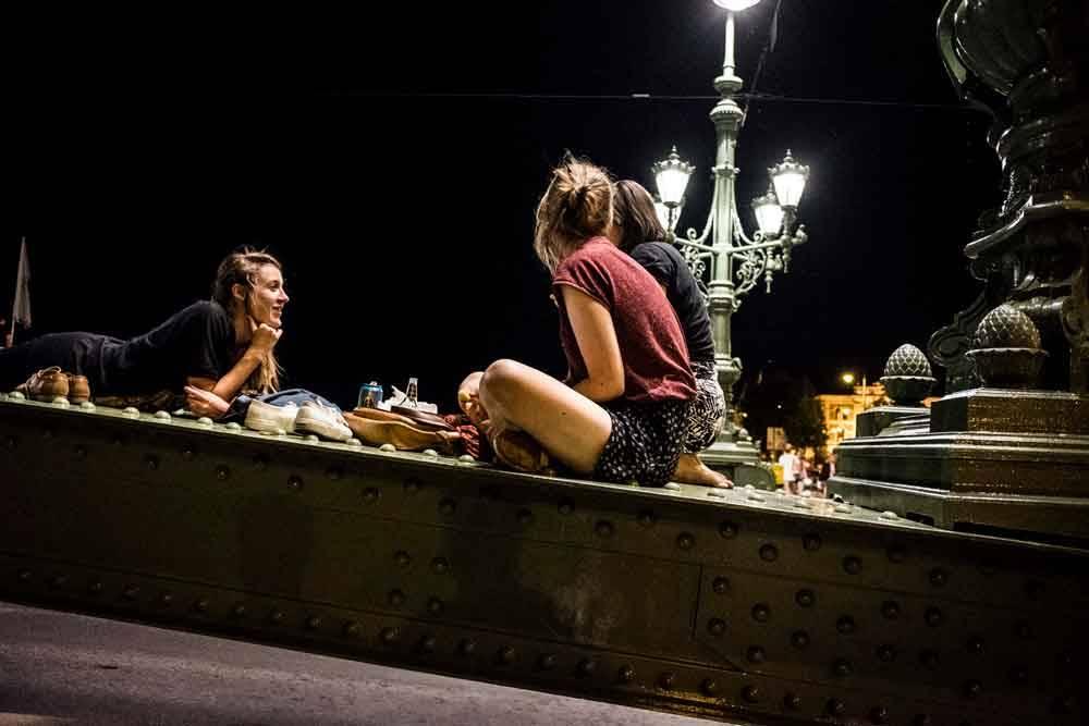 Летняя ночь. Будапешт, Венгрия, © Лаффертон Жолт, Фотоконкурс «Городской фотограф года» — CBRE Urban Photographer of the Year