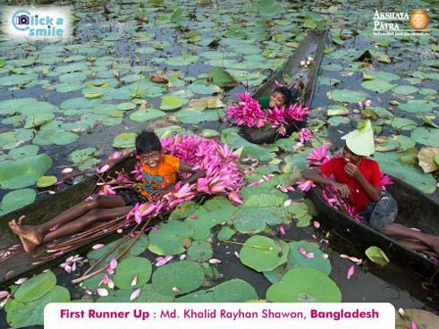 © Халид Райхан Шавон (Бангладеш), Первое место, Конкурс фотографий «Фото улыбки» — Click A Smile