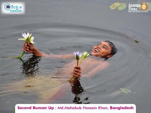 © Халид Райхан Шавон (Бангладеш), Второе место, Конкурс фотографий «Фото улыбки» — Click A Smile