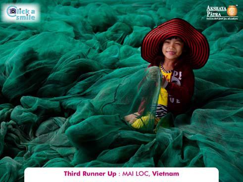 Май Лок, (Вьетнам), Третье место, Конкурс фотографий «Фото улыбки» — Click A Smile