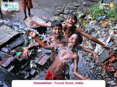 © Пранаб Басак (Индия), Утешительный приз, Конкурс фотографий «Фото улыбки» — Click A Smile