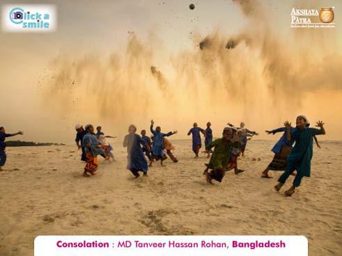 © Танвейер Хуссейн Рохан (Бангладеш), Утешительный приз, Конкурс фотографий «Фото улыбки» — Click A Smile
