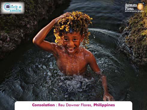© Рей Даунер Флорес (Филиппины), Утешительный приз, Конкурс фотографий «Фото улыбки» — Click A Smile