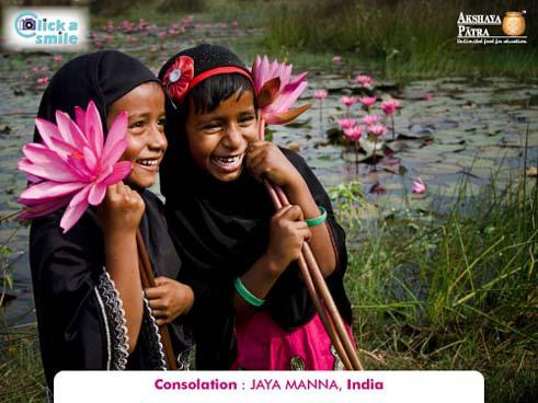 © Джая Манна (Индия), Утешительный приз, Конкурс фотографий «Фото улыбки» — Click A Smile