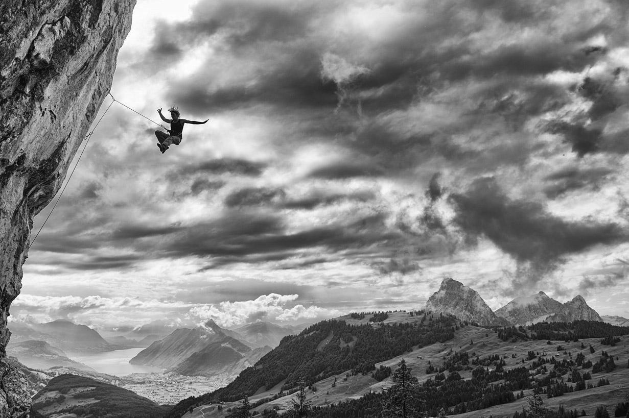 Научиться летать, © Райнер Эдер, Афиша кинофестиваля в Бильбао Менди 2018, Фотоконкурс CVCEPhoto