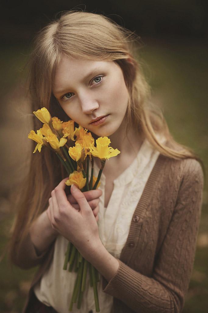 Портрет Авы, © Магдалена Колаковска, Великобритания, Победитель апреля 2018 года, Фотоконкурс «Детский портрет»