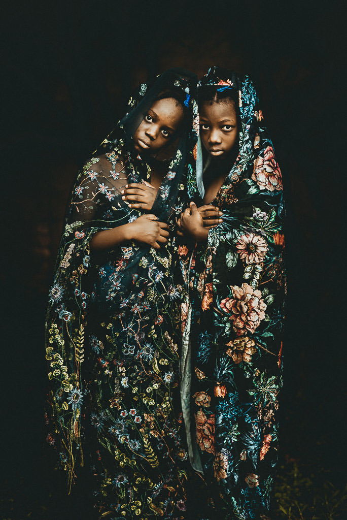 Сестры Лейда и Лаэль, © Тати Итат, Бразилия, Победитель мая 2018 года, Фотоконкурс «Детский портрет»