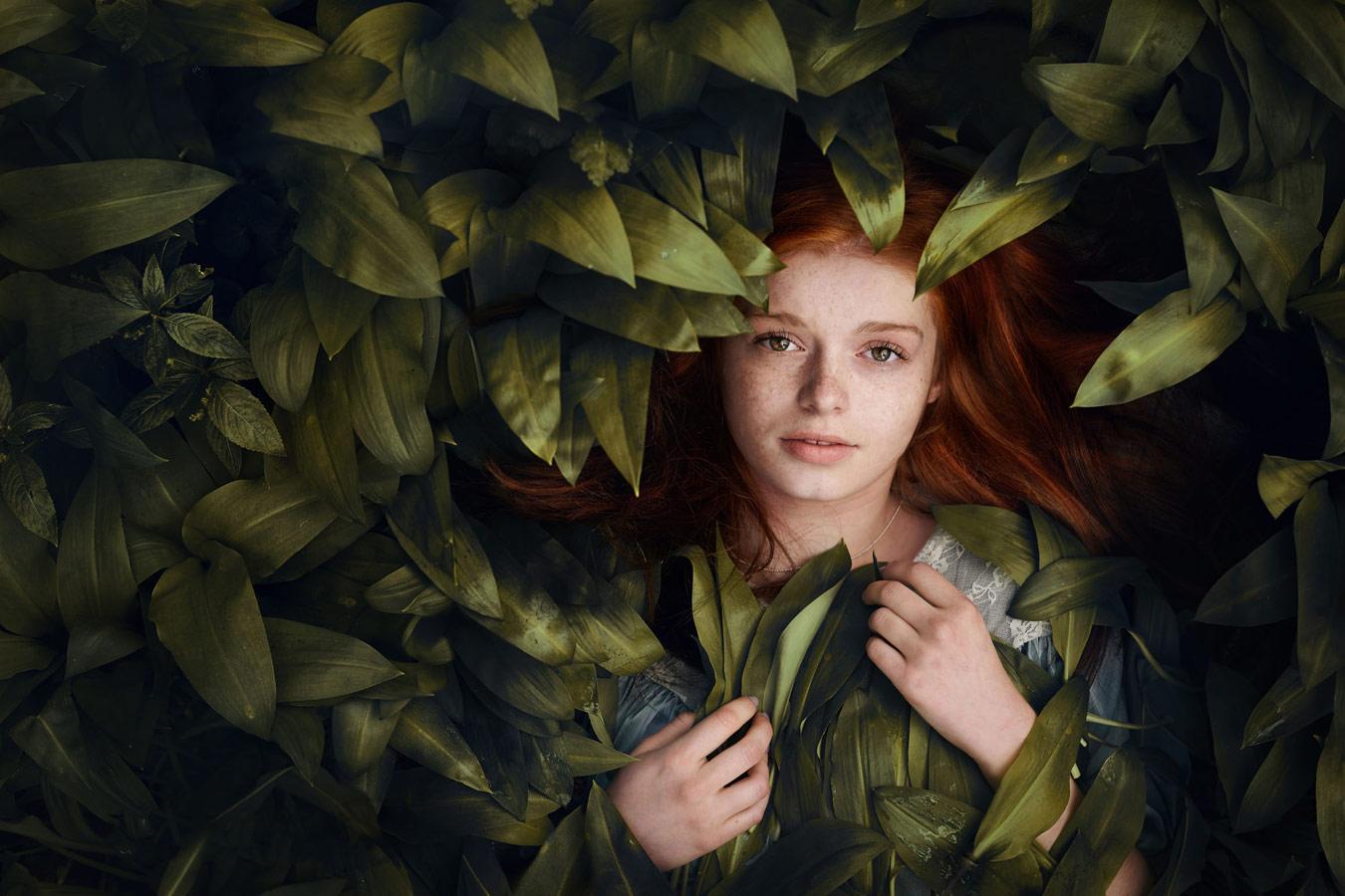 Красный и зелёный, © Мариола Глайкар, Польша, Победитель июля 2018 года, Фотоконкурс «Детский портрет» — CPC Portrait Awards
