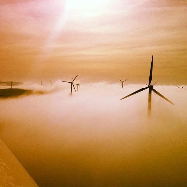 Над туманом, © Мартин Эванс, 2-е место, Фотоконкурс «Фотограф года от Digital Camera»