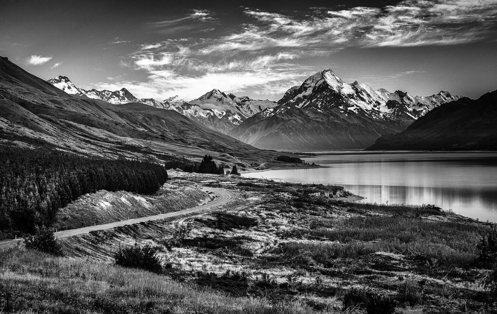 Дорога к горе Кук, © Дж. Моррисси, 3-е место, Фотоконкурс «Фотограф года от Digital Camera»