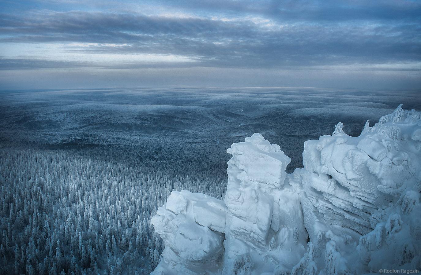 Вид с горы «Полюдов камень», © Рагозин Родион, 1-е место в номинации «Пейзажи», Фотоконкурс «Дикая природа России» от National Geographic