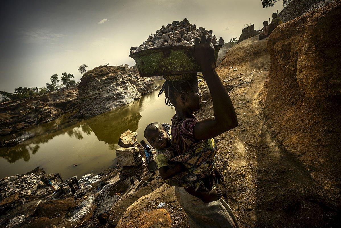 Карьер, © Антонио Арагон Ренунцио, 1 место категории «Проблема», Фотоконкурс «Прямой взгляд» — Direct Look