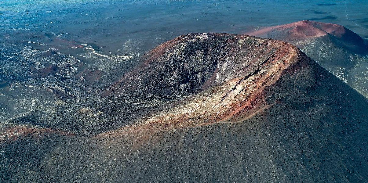 3е место, Конусы Большого трещинного извержения вулкана Толбачик