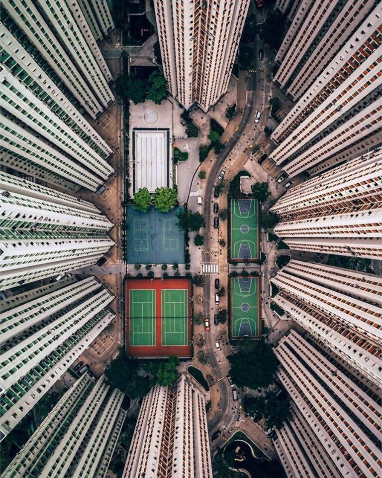 Благоустройство, © Гэри Камминс, Второе место, Конкурс фотографий с дрона DrAw