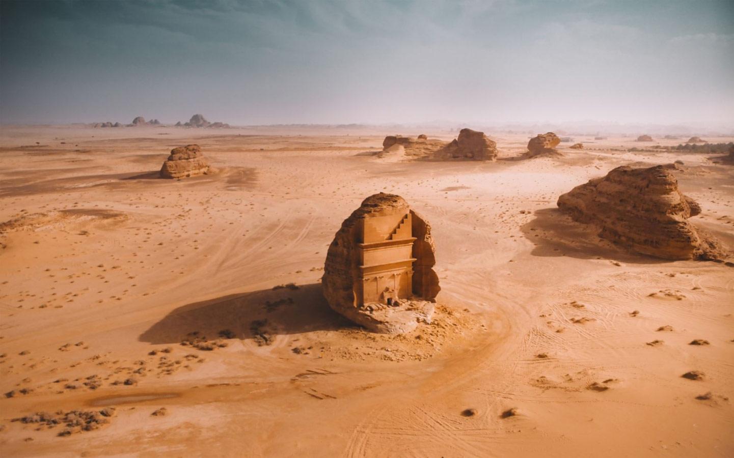Мадаин Салех, © Габриэль Сканю, Победитель категории, Конкурс фотографий с дрона DrAw