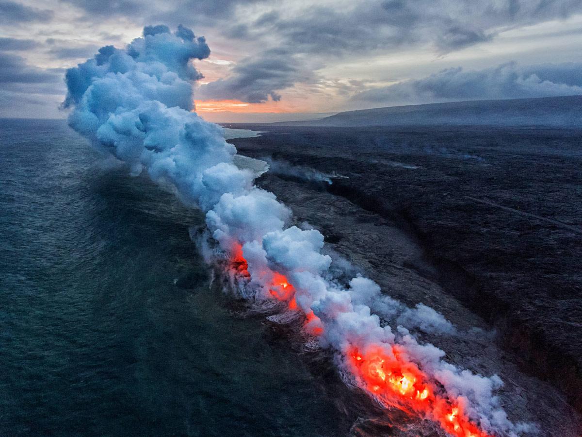 Вход в ад, © Сиаосиао Лю, Второе место, Конкурс фотографий с дрона DrAw