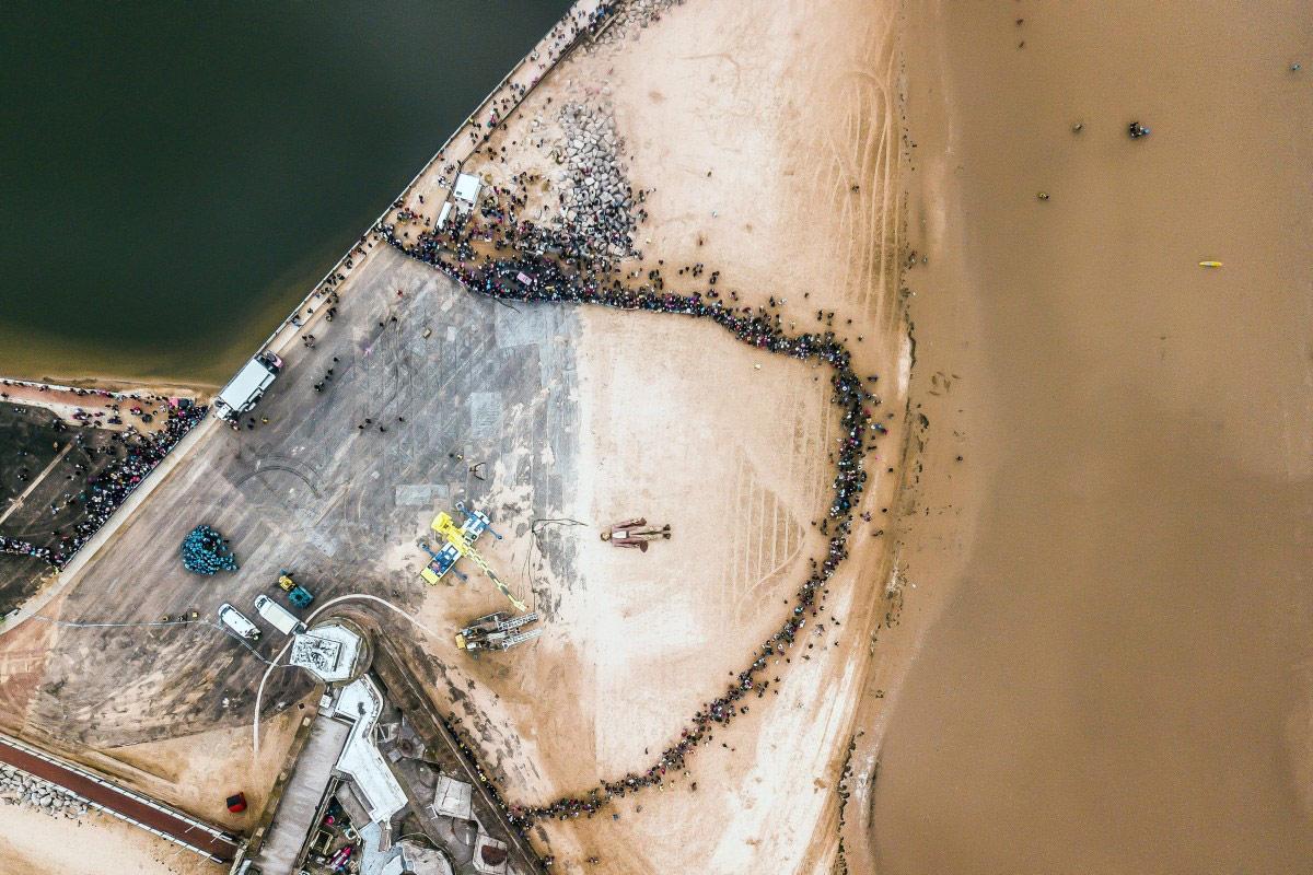Мойка гиганта, © DesertSurfer, Конкурс фотографий с дрона Dronestagram