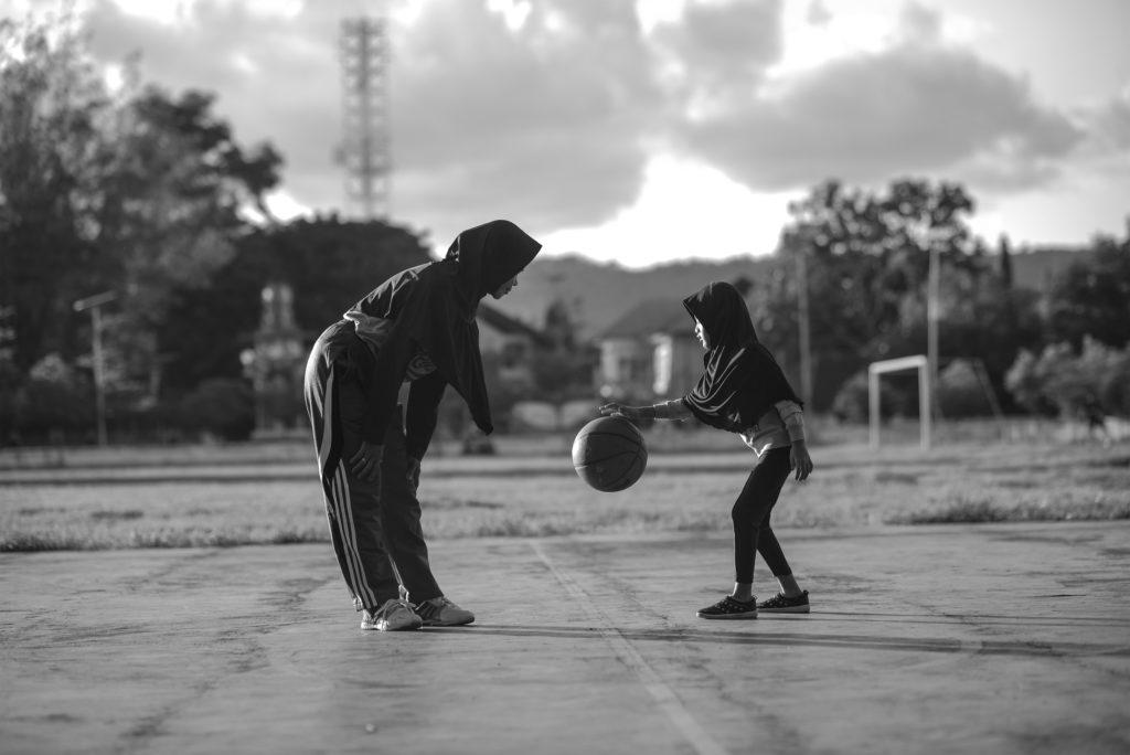 "10-е место. © Farida aryani: ""Знакомство с баскетболом на ранней стадии"""