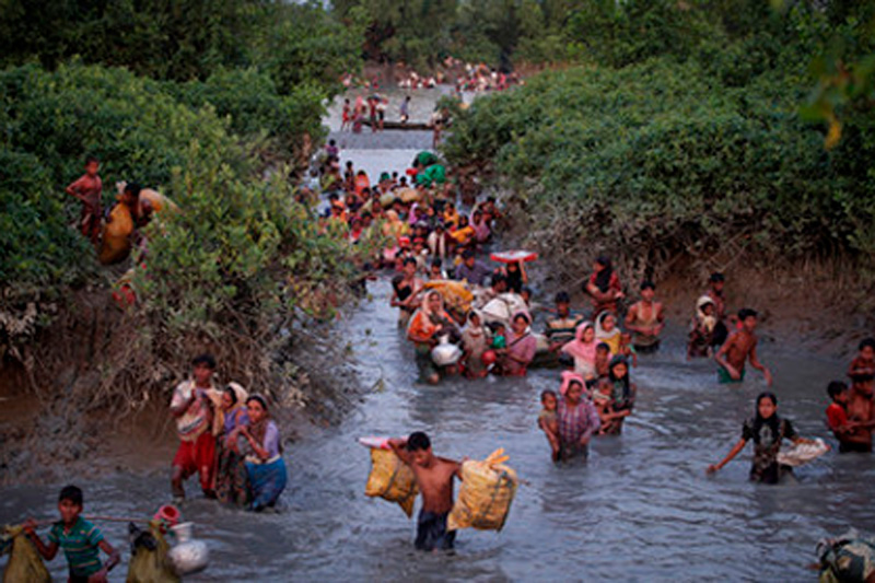 Дрейфующие жизни - рохинджа, Аднан Абиди (Индия)