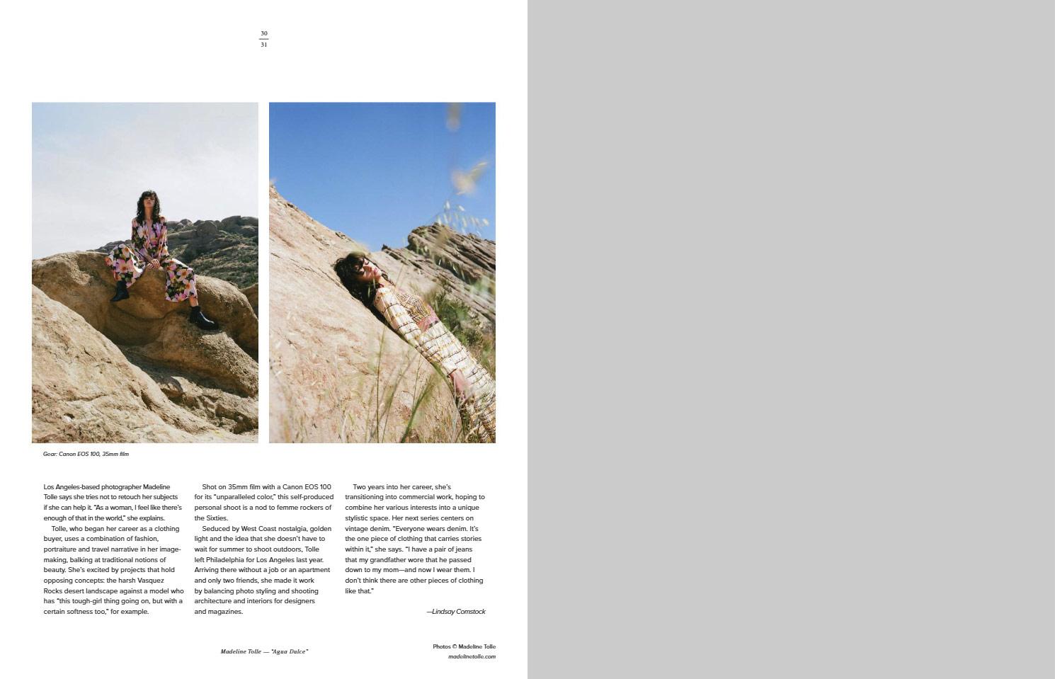 Агуа Дульсе © Мэдлин Толле, Фотоконкурс «Начинающий фотограф» — Emerging Photographer