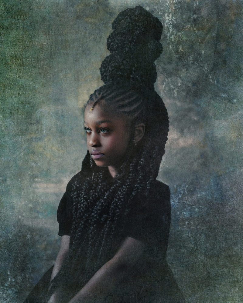 Индиго, © Тауни Чатмо, Победитель категории «Фотомонтаж» (профессионал), Фотоконкурс Fine Art