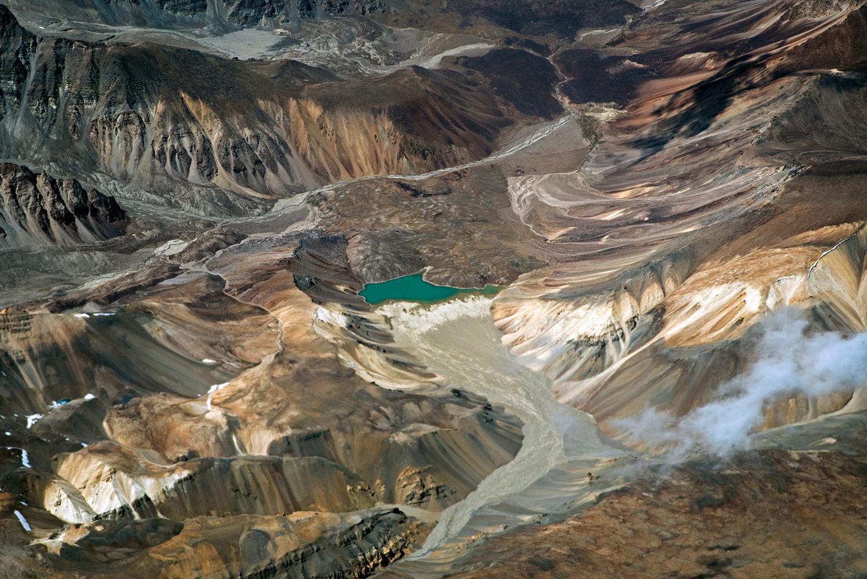 Изумрудное озеро, © Парта Саха, Фотоконкурс «Узоры в природе»