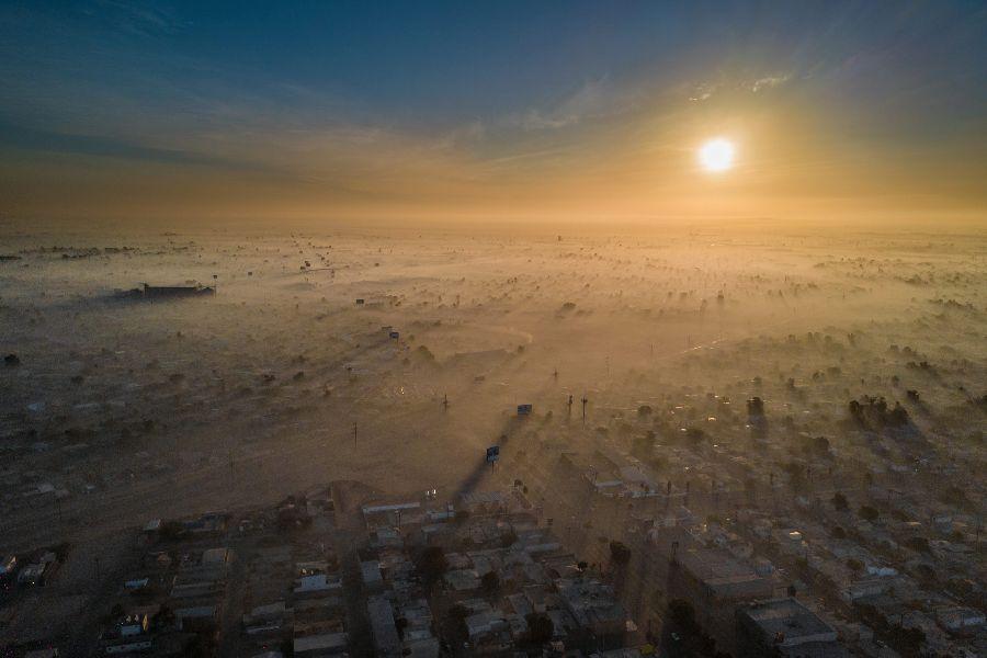 Элиуд Гил Саманьего, Загрязненный Новый год