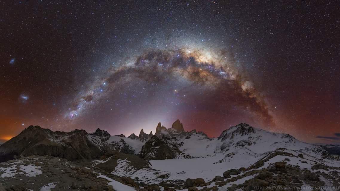 Звездное небо Патагонии, © Юрий Звёздный, Второе место, Фотоконкурс «Золотая Черепаха»