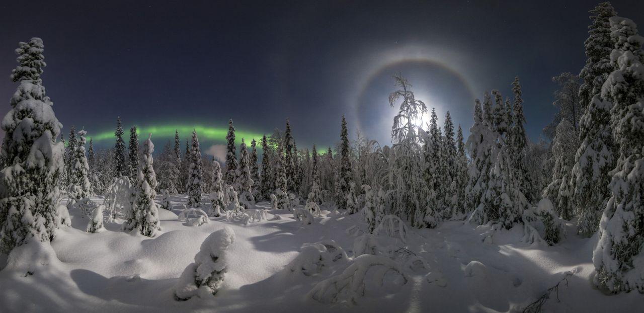 Лунное гало, © Виталий Истомин, Второе место, Фотоконкурс «Золотая Черепаха»