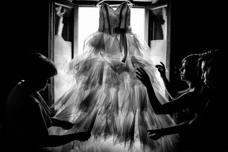 Джанфранко Бернардо, Свадебное платье